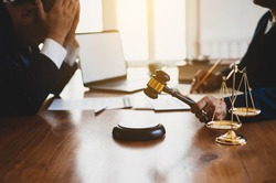 Concepts of lawsuits and bankruptcy decisions.