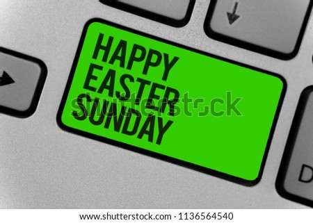 Happy Easter: happy easter writing