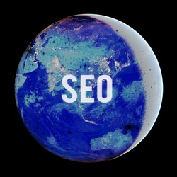 Conceptual hand writing showing Seo. Business photo text incredibly effective way to market your near business online Elements of this image furnished by NASA.