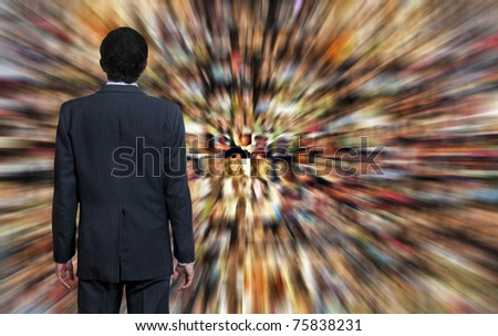 conceptual image for social media for business marketing