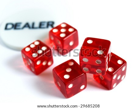Conceptual image represent occupations or career in gambling or risk in  investment world. #29685208