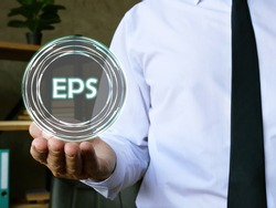 Conceptual photo about Earnings Per Share EPS with written text.