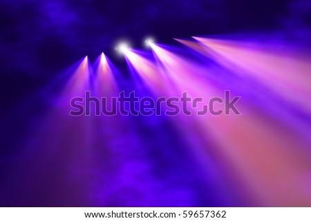 Concert bright light