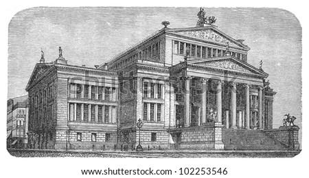 concert hall in berlin  germany ...