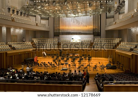 Concert Hall in national center for the performing arts