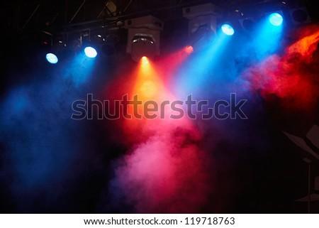 concert light show, Stage lights #119718763