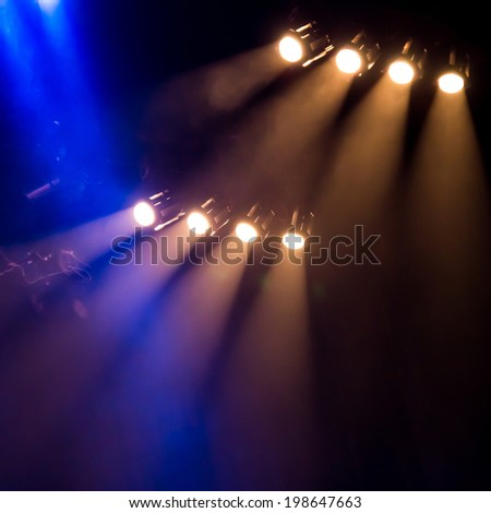 Concert lighting background #198647663