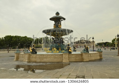concord square in paris #1306626805