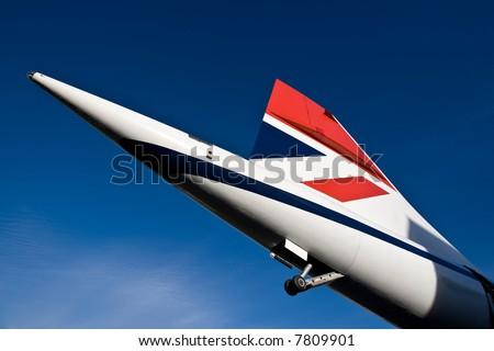 Concorde tail fin