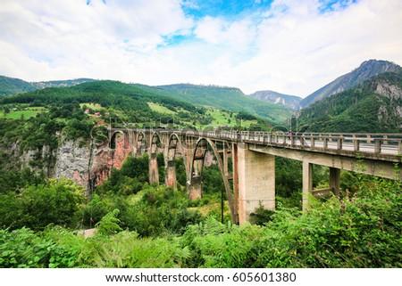 concrete arch durdevica bridge...