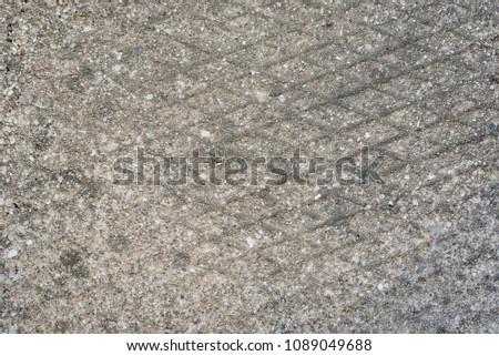 Concrete background with rhombus design, grey #1089049688