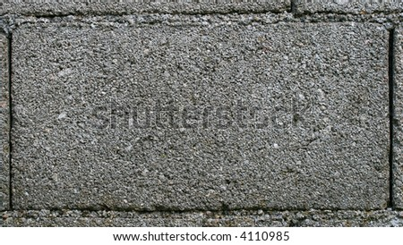 concrete block texture. stock photo : concrete block texture