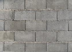 Concrete block wall background & texture.