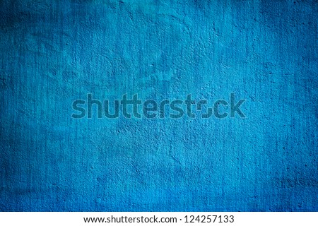 concrete blue darken wall texture grunge background