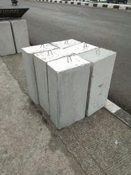 Concrete channels for road construction, road dividers