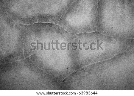 Concrete crack texture