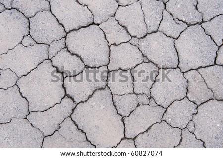 Concrete cracked texture