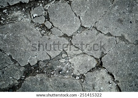 Concrete cracks texture