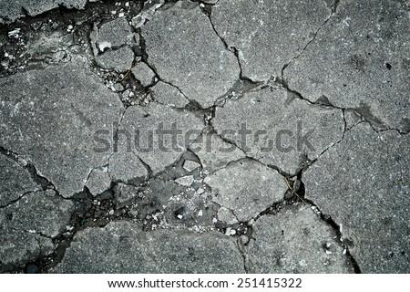 Concrete cracks texture