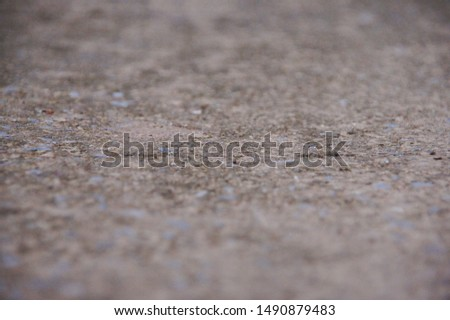 concrete floor photos focus on the center of the image top and bottom sections are blurred images, background images