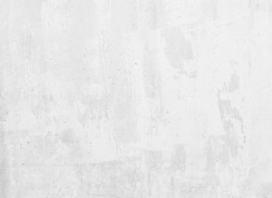 Concrete grunge white wall background