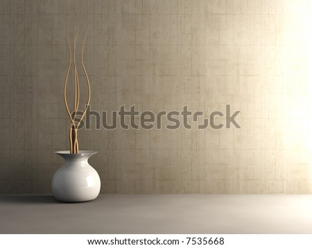 Concrete Interior - Unbalanced lightning