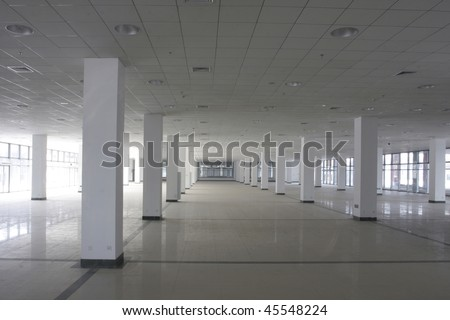 concrete jungle park or office