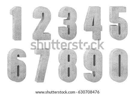 Concrete numbers #630708476