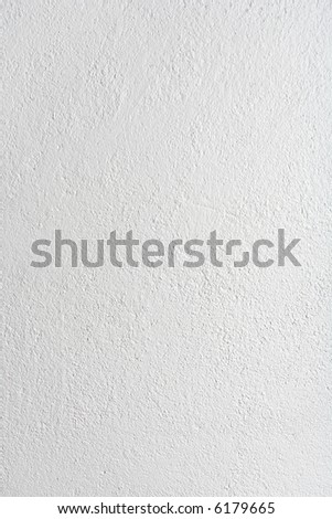 Concrete painted with white paint