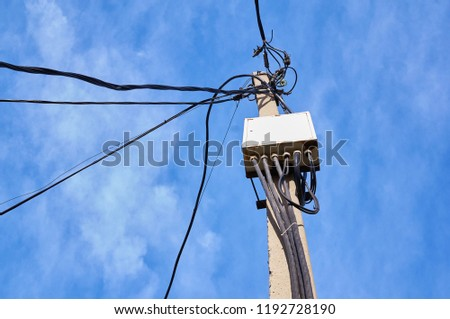 Fine Messy Telephone Wire In Box Free Images And Photos Avopix Com Wiring Digital Resources Remcakbiperorg
