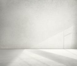 Concrete Room Corner Shadow Cement Wallpaper Concept