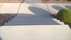 Concrete Stairs - Looking  Down