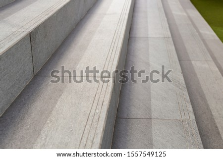 Concrete stairs, stairs or steps.