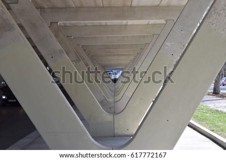 Concrete structure. Concrete structure. #617772167