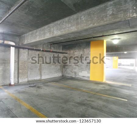 concrete structure series (parking garage)