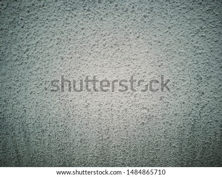 Concrete surface with a surface of gravel