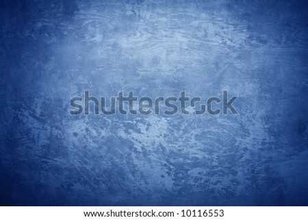 Concrete texture with cold blue light