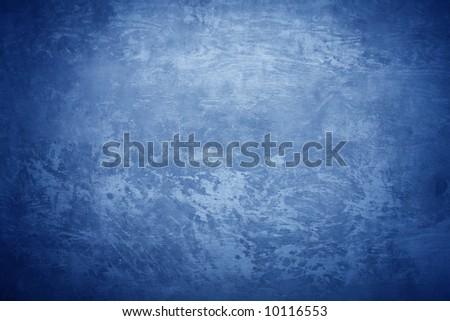 Concrete texture with cold blue light