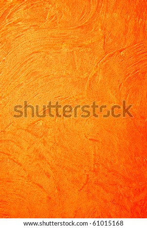 Concrete texture with orange color