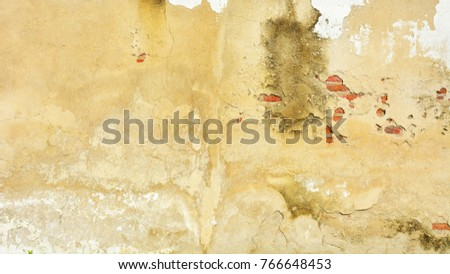concrete vintage wall background - old wall #766648453