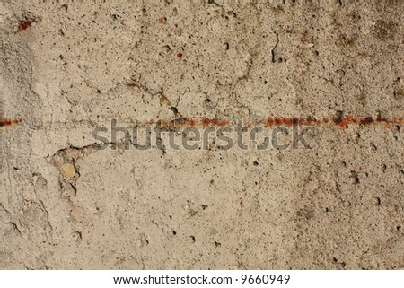 concrete wall fragment close-up shot - stock photo