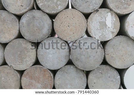 Concrete walls made of concrete samples were tested. #791440360