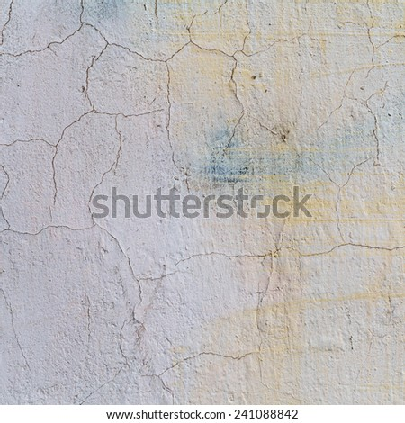 Concrete, weathered, worn, painted white. Landscape style. Grungy Concrete Surface. Great background or texture. #241088842