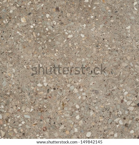 Concrete with the stone chippings texture background