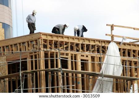 Condominium construction in progress