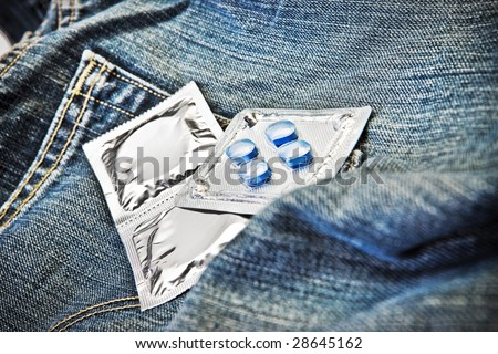 stock photo condoms and viagra sex trade and desire 28645162 Pfizer Loses Viagra Patent in Canada