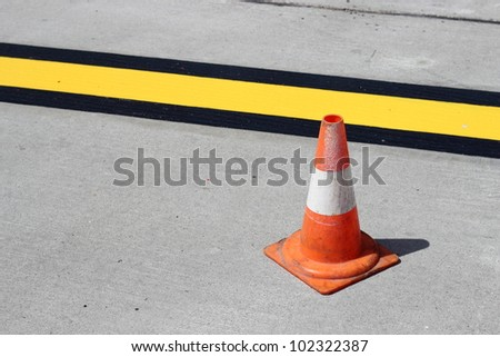 Cone, road markings #102322387