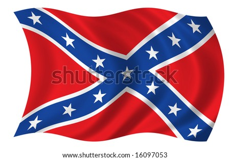 Confederate States of America Flag (see my portfolio for more flags)