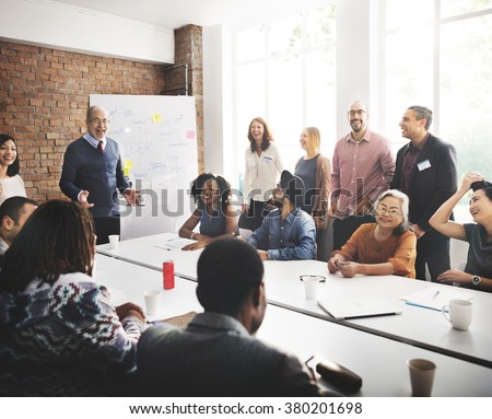 Conference Discussion Talking Sharing Ideas Concept