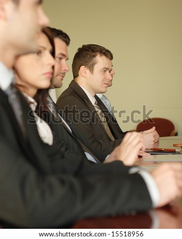 conference, group of business people